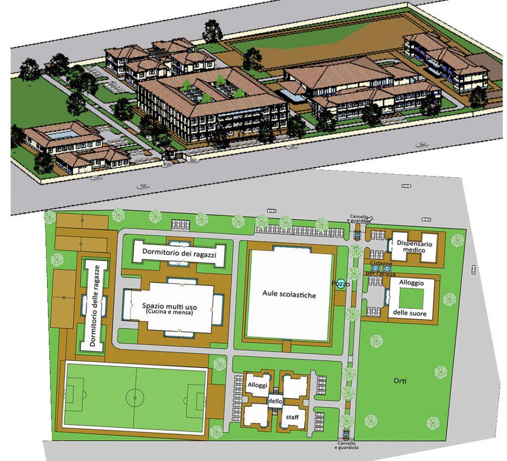 campus scolastico tanzania mapinga il progetto