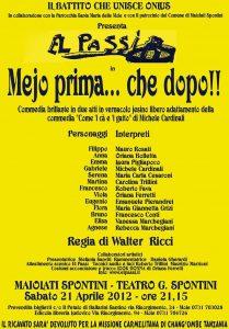 Aprile 2012 - El passi - Mejo prima che dopo-!!