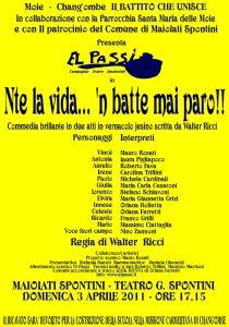 Aprile 2011 - El passi nte la vida n batte mai paro