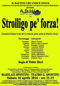 Aprile 2016 - El passì - Strolligo pe' forza!