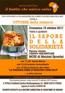 Il Sapore Della Solidarieta 2017